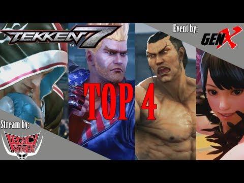 TEKKEN 7 - GENX TOURNAMENT TOP 4