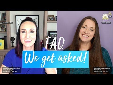 Gestational Surrogacy FAQ That We Get Asked!