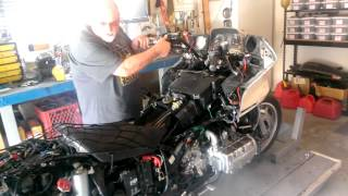 1995 honda goldwing gl1500 with 99 engine swap