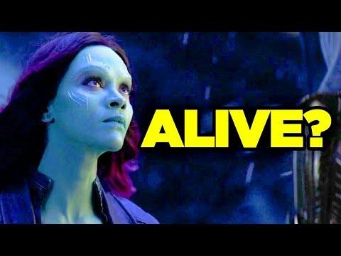 Avengers Endgame - GAMORA Spotted in Trailer?