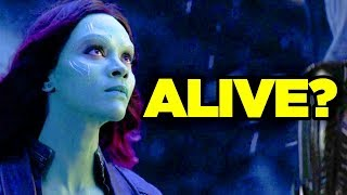 Avengers Endgame - GAMORA Spotted in Trailer?