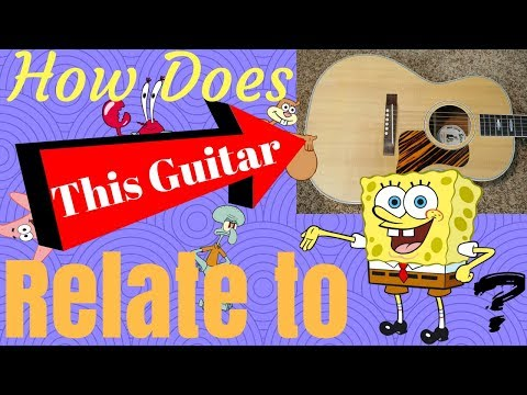 How Does This Guitar Relate to SpongeBob? 2006 Gibson Nick Lucas Special | Review + Demo