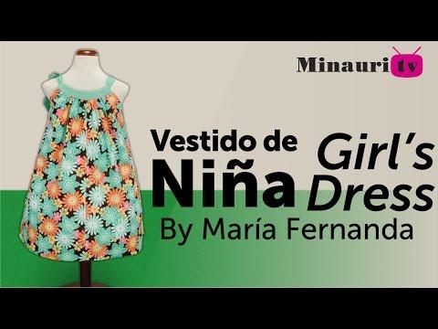 Vestido Niña (MR9) - Girl Dress - Vestito Bambina - Robe Fille - Mädchen-Kleid