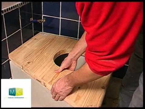 comment fabriquer construire wc toilette s che simple s doovi. Black Bedroom Furniture Sets. Home Design Ideas