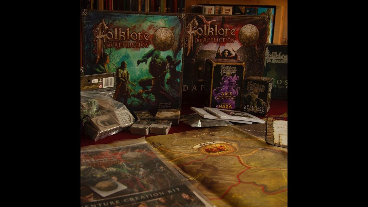 Folklore: The Affliction – Game Publisher : Greenbrier Games