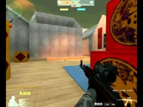 Counter Strike RED GamePlay (The best CS Mod)