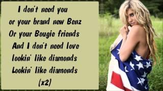 Ke$ha - Sleazy Karaoke / Instrumental with lyrics on screen