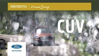 Ford Freestyle | FreeSwag with India's first CUV