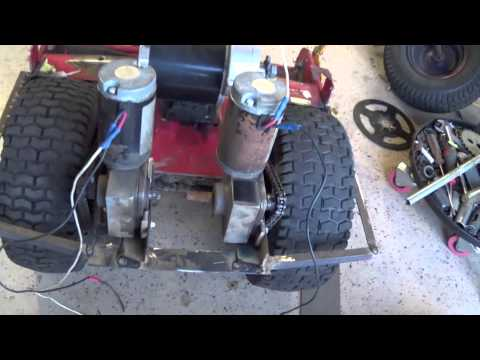 how to build a remote control lawn mower