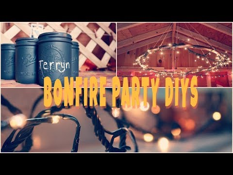 DIY FALL PARTY DECORATIONS    Kaitlyn Lafontaine