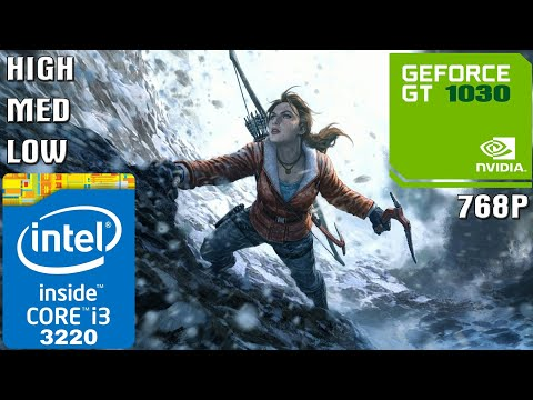 Rise of the Tomb Raider [PC] - I3-3220 + 4GB RAM + GT 1030