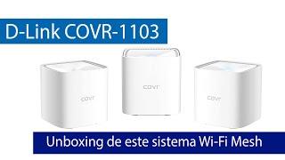 D-Link COVR-1103: Unboxing y primeras impresiones de este WiFi Mesh barato