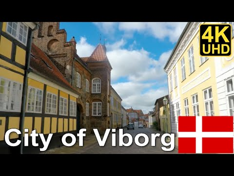 Driving in Denmark #1 - City of Viborg