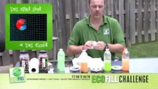 Pat's DXS Paintball EcoFill Koolaid test