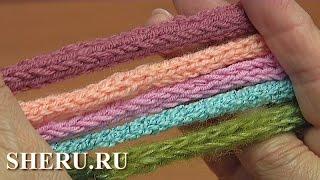 Простой шнур спицами Урок 93 Knitted Cord