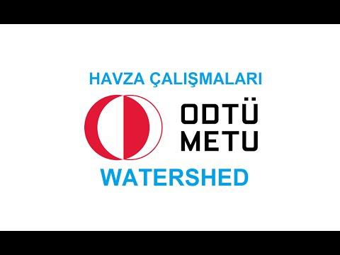 SWAT : Soil and Water Assessment Tool - Örnek Çalışma