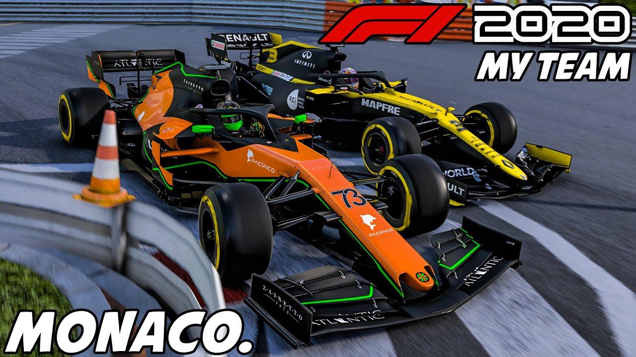 F1 2020 MyTeam Karriere #8: Party oder Pleite in Monaco? | Formel 1 2020 My Team Gameplay German