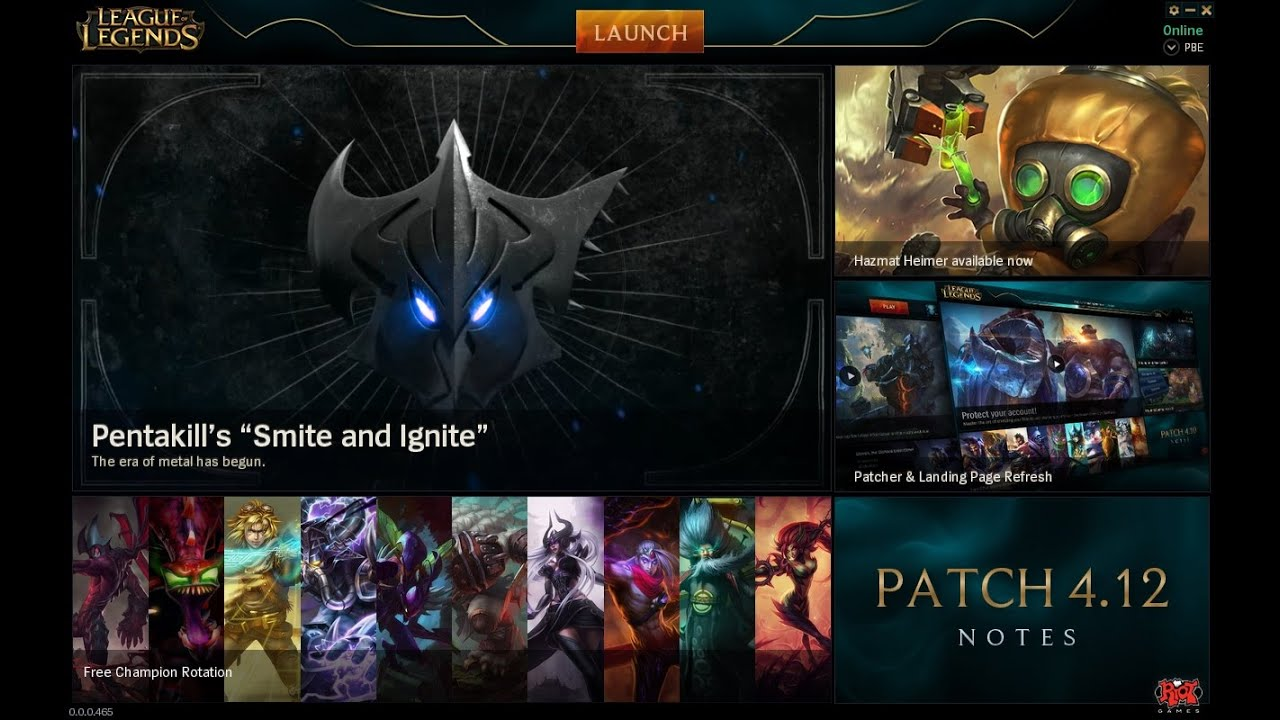 Lol patch 311 not working