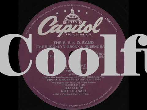 The Brooklyn, Bronx & Queens Band - On The Beat (12 inch 1981)