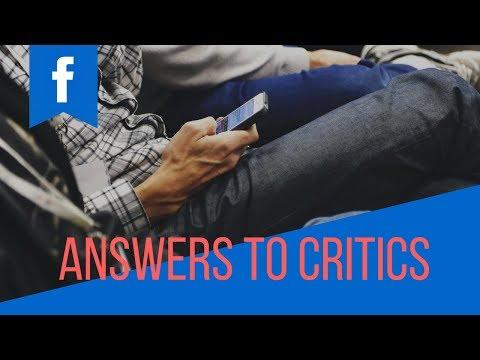 answers to critics [English]