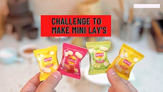 How To Make Mini Lay's Chips 2020 | MINI FUNCTIONAL KITCHEN SET