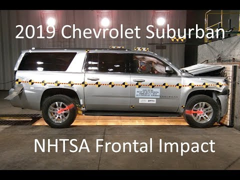 2019-2020 Chevrolet Suburban/GMC Yukon XL/Cadillac Escalade ESV NHTSA Frontal Impact