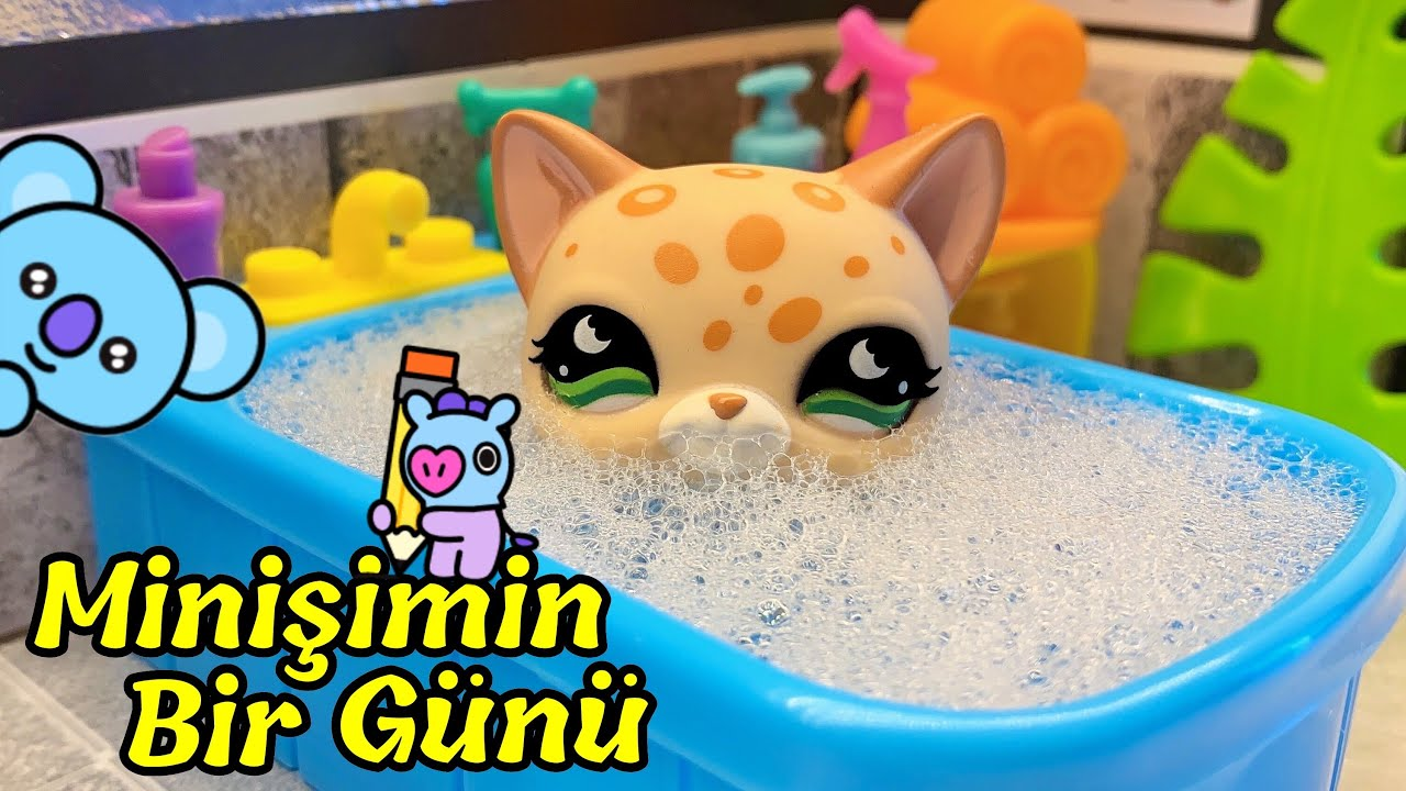 Minişimin Sabah ve Akşam Rutini ????☀️ - Minişler Cupcake Tv  || LPS Littlest Pet Shop