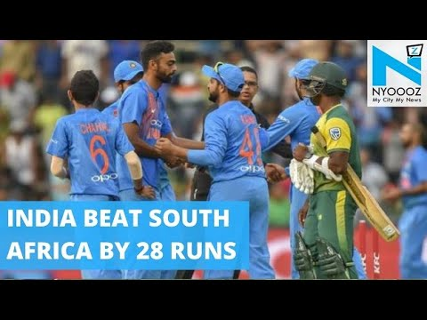 IND vs SA: Bhuvi Stars in India's Thumping Win | Cricket News | NYOOOZ TV