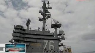 BP: Paglalayag ng USS Ronald Reagan sa West Phl Sea,