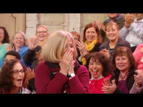 Watch this Studio Audience Member Realize She Won EVERYTHING on Oprah's Favorite Things 2017 List