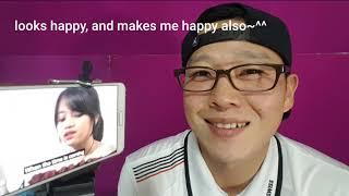 """Orang Korea Reaksi Hanin Dhiya cover """"Akad, Payung Teduh"""""""