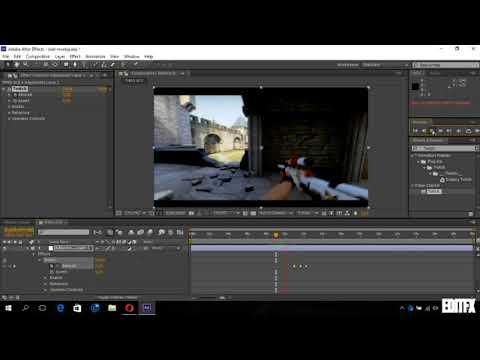 After Effects Dersleri Twitch Effect Nasıl Yapılır/How To After Effects Twitch Effects