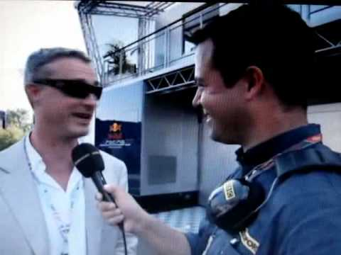 Lesson In Formula 1 Etiquette - Don't Swear When Talking to Ted Kravitz