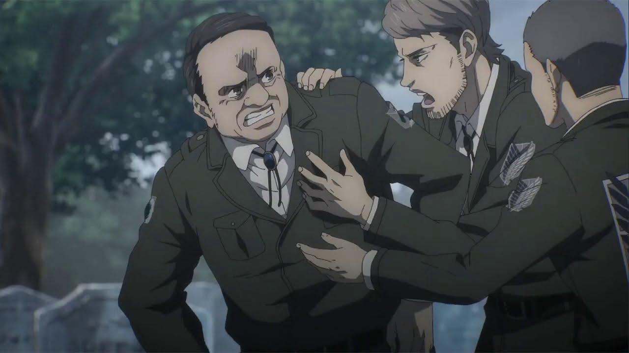 Download Gathering at Sasha's Grave Attack on titan Season 4 Episode 9 English Subtitles (4K)