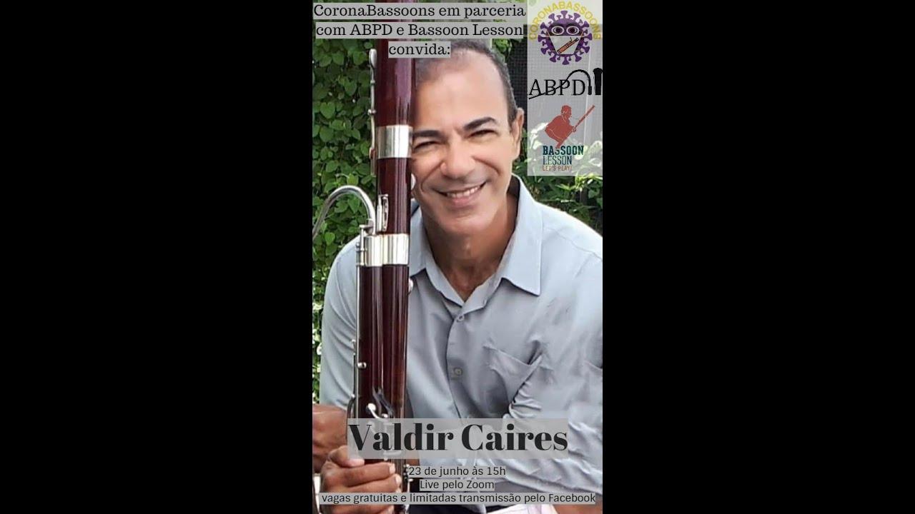 Live com o professor Valdir Caires