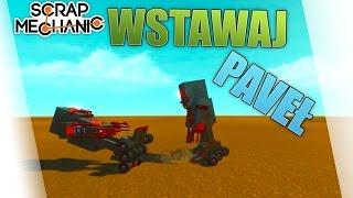 Scrap Mechanic Po Polsku #218 - Roboty Po Ostrej Bibie /Paveł || Plaga