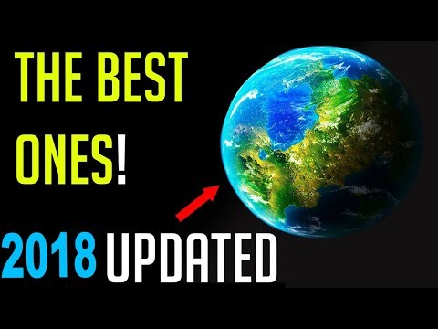 10 BEAUTIFUL Latest Earth Like Planets FOR HUMANS