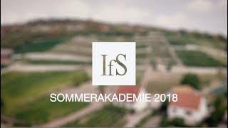 IfS Sommerakademie 2018