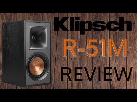 Klipsch R 51M Review. ¡No las puedes dejar de escuchar!