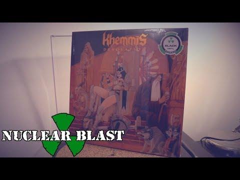 KHEMMIS - Desolation Vinyl Unwrapping (OFFICIAL TRAILER)
