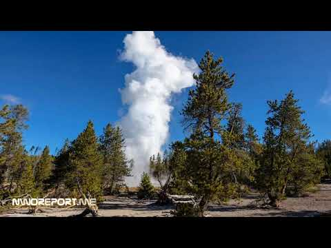 Yellowstone Steamboat Geyser Erupting At Unprecedented Rates matching decades-old records
