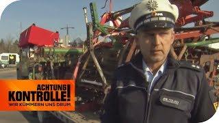 LEBENSGEFAHR: LKW-Fahrer ignoriert alle Vorschriften! | Achtung Kontrolle | kabel eins