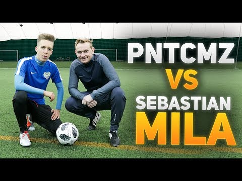 Sebastian Mila VS PNTCMZ   Pojedynek piłkarski!