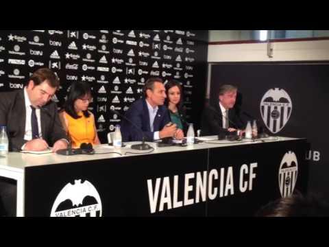 Presentación Cesare Prandelli como nuevo entrenador del Valencia