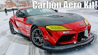 2020 Supra Gets Carbon Aero with Spage Sport! Project TA90 #16