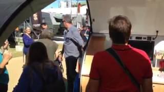 Gidget at the Qld Caravan, Camping & Touring Super Show 2015