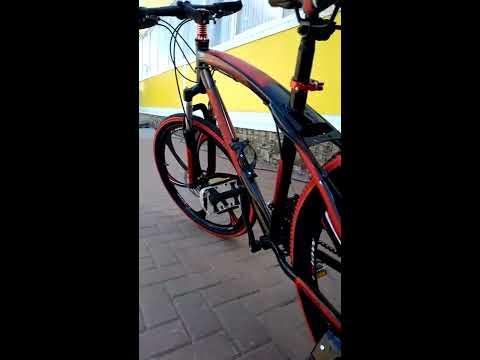 Велосипед на литых дисках премиум 24
