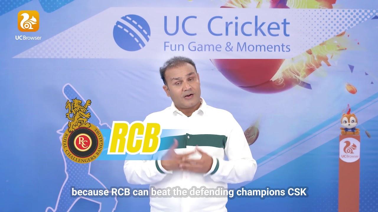Watch VIRENDER SEHWAG'S prediction| Virender Sehwag | UC Cricket | UC  Browser