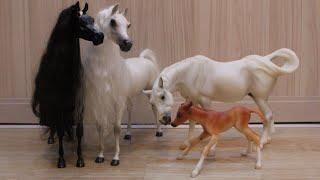АРАБСКИЕ ЛОШАДИ В СБОРЕ!ARABIAN HORSES ARE TOGETHER!Распаковка БРЕЕР/БРЕЙЕР РАСПАКОВКА/BREYER/БРЕЕР