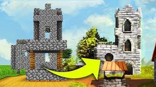 Jak mogłyby wyglądać budynki z Minecraft w rzeczywistości?